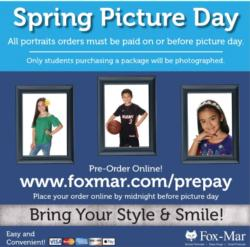 Spring Portraits are on February 13, 2020